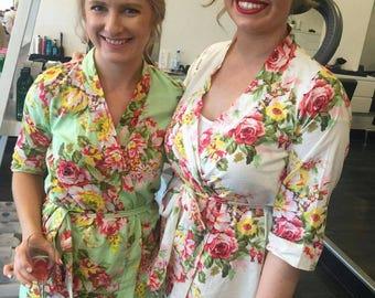 Set of 1,2,3,4,5,6,7,8,9,10,11,12 Bridesmaid Robes,Bridesmaid robe,Bridesmaid Gift,Gift For Bridesmaid,Robe For Bridesmaid,Bridesmaid Robe,