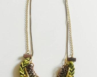 Brazilian pineapple necklace