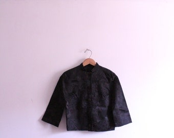 Silk Brocade Fancy Mandarin Jacket