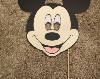 Mickey Mouse Paper Mask Child Size