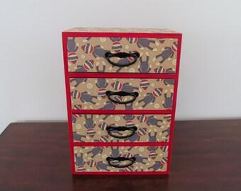 Sock Monkey Jewelry Box
