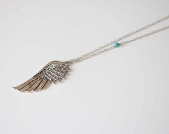 Celebrity Necklace  - Angel Wing Necklace