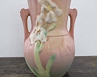 Vintage Rosevill Iris Vase