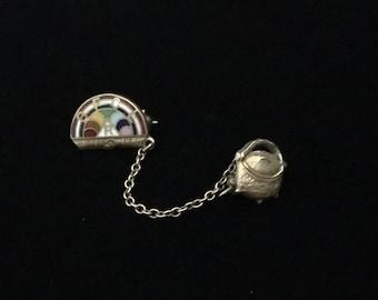 Vintage 1920's BFCL: International Order of the Rainbow for Girls Masonic Club Brooch/Pin (RGB2)