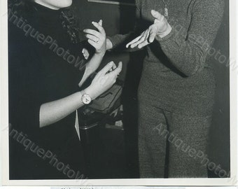 Liza Minnelli with friend vintage photo