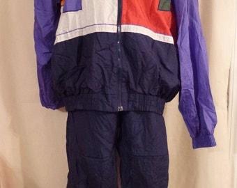 Vintage 80s 90s MacGregor wind jogging suit 2 pc Size L