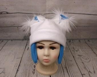 Fleece Yeti Hat (Baby, Child, and Youth Sizes)