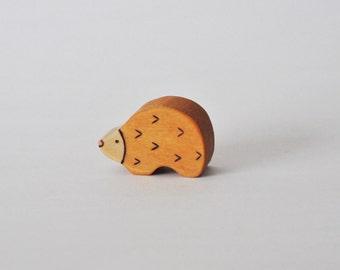 Little Hedgehog - Handmade Wooden Toy