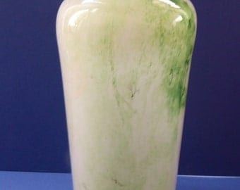 Vintage  Scandinavian LARGE 1970s Studio Glass Vase. PLUS NORWAY; Designed by Benny Motzfeldt (1909 - 1995)