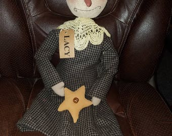 Handmade Lacy Doll