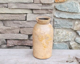 Antique Cowden & Wilcox Crock Signed