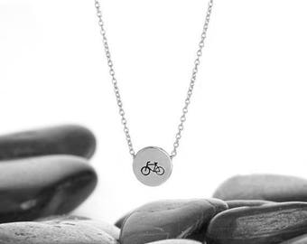 Bicycle Necklace, Bike Jewelry, Bicycle, Bike Necklace, Bicycle Pendant, Bicycle Charm, Cyclist Gift, Bicycle Jewellery, Bike, N246sS