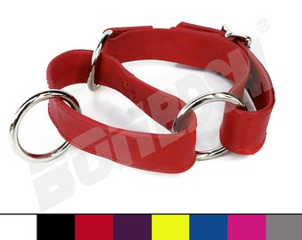 Bondage leather choke collar, Asphyxiation Training & Play neck cuff choker w locking buckle, bdsm slave fetish restraints, Gift Mature