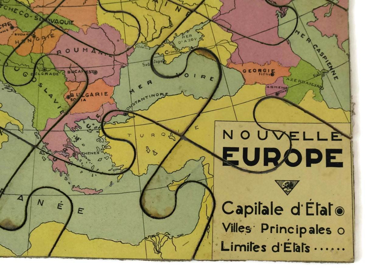 French vintage world map jigsaw puzzle map of europe wooden puzzle french vintage world map jigsaw puzzle map of europe wooden puzzle gallery photo gallery photo gallery photo gumiabroncs Image collections