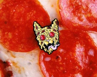 Pizza Cat Enamel Pin