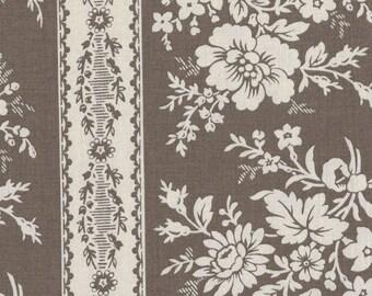 Moda Quilt Fabric - French General  - Fa La La La - Stone Stripe - 13582-18 - By the Yard