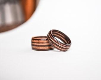 Veneer Wood Ring