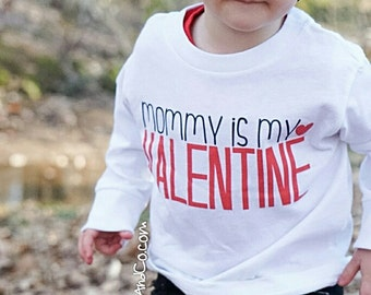 Boy Valentine Outfit, 1st Valentine's Day, Valentines Day Baby Outfit, Boy Valentines Day Shirt, Valentine's Day Girl, Liv & Co.™