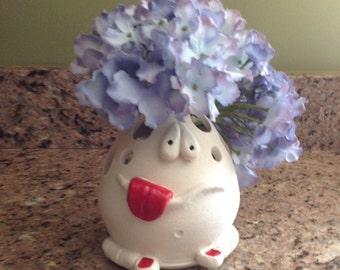 Doodle Head, Vase