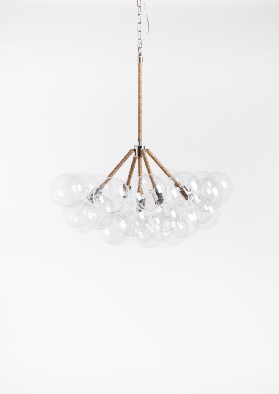 The five branch bubble chandelier 32 diameter - Chandelier a 5 branches ...