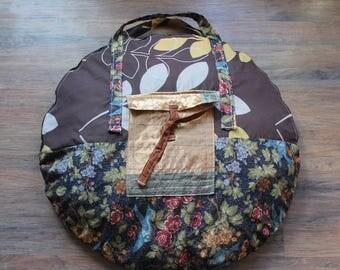 Handmade hula hoop tent carrying bag