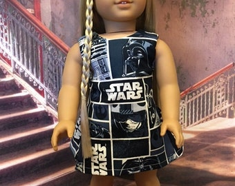 Movie Dress fits American Girl and 18 inch dolls