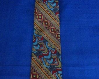 Vintage Mr. John beau brummell Silk Tie
