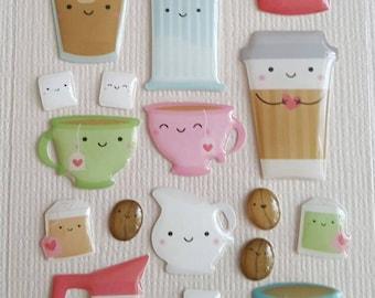 Doodlebug Design Shape sprinkles latte love