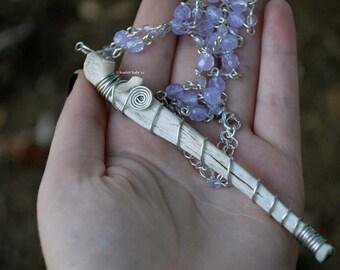 Pastel Rabbit Bone Necklace