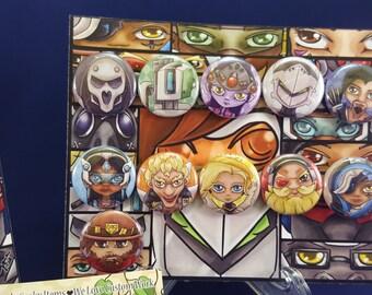 Overwatch Inspired Pin Set #1