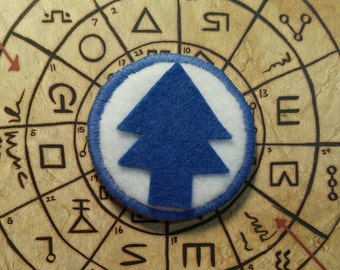 Gravity Falls Dipper Pine Tree Badge