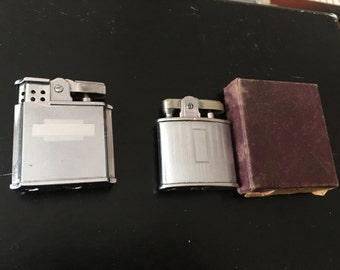 2 Vintage Lighters Ronson & Fisher