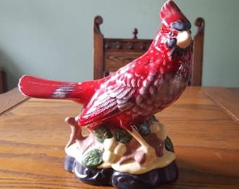 Vintage,Cardinal figurine.