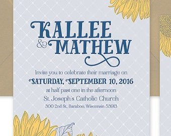 Wedding Invitation Suite #61