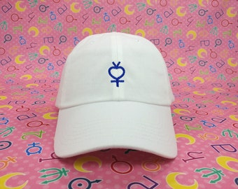 Sailor Mercury Symbol Cap