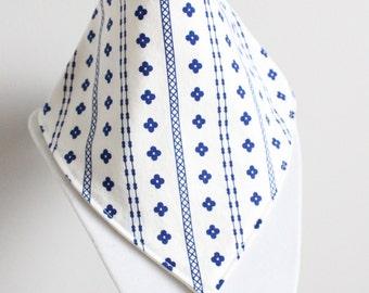 folk fabric bandana style drool bib