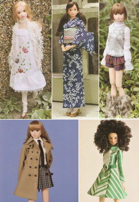105 Doll Clothes Patterns Doll Fashion Styling Japanese