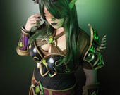 Signed Cosplay print of 'Demonhunter' cosplay by PretzlCosplay A4 size