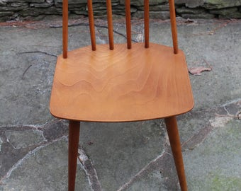 Danish Modern Mid Century Chair by Folke Palsson Model J77