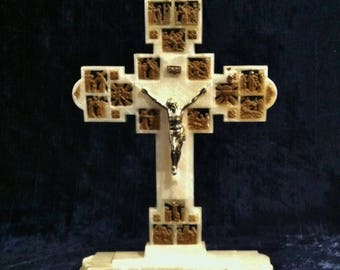 Free Standing Cross Etsy