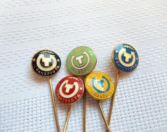 Transporta Badge, Transporta Pin, Czechoslovakia pin,