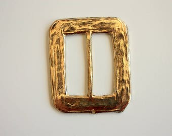 Goldtone Buckle / Fancy Buckle / Designer Buckle
