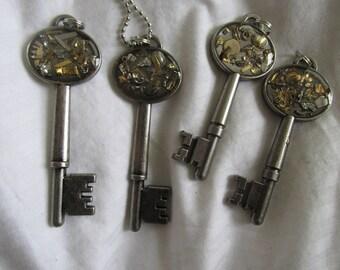 Skeleton Key Pendant