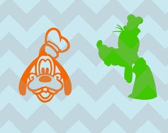 Goofy Inspired Disney Magic Band Decal