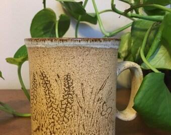 70s Vintage Stoneware Mug Duncan Ceramics Scotland
