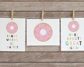 PRINTABLE.Donut Print.Bab...