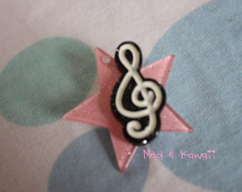 I want to be a star pin