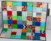 Baby Quilt, Handmade Baby Quilt, Modern Baby Quilt, Baby Gift, Handmade Baby Gift, Newborn Gift, Baby Shower Gift, Holiday Baby Gift,
