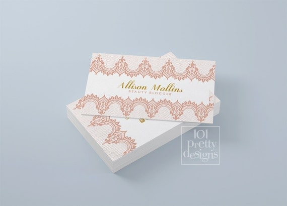 Lace business card design laced business card template printable il570xn colourmoves