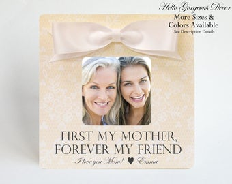 Mother's Day Gift for Mom Picture Frame Personalized Mother Mom Gift from Daughter Custom Photo Frame Gift to Mom from Son Child Gift Ideas